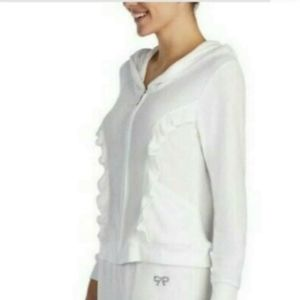 💕 Betsey Johnson Bride Hoodie with patches